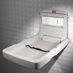 Jofel USA Commercial Horizontal Baby Changing Station Changing - Commercial bathroom baby changing table