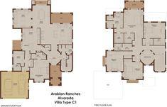Alvorada C1 - Arabian Ranches - Dubai Floor Plans
