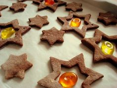 Simple recipe for delicious Christmas cookies: cocoa-almond cookies. German Christmas Cookies, Christmas Treats, Merry Christmas, Food Cakes, Cupcake Cakes, Cookie Recipes, Dessert Recipes, Desserts, Fondue