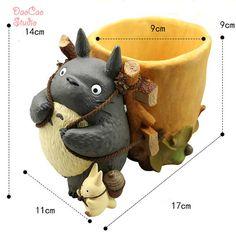 garden photography Fairy Garden Planter Pot , Big Totoro Back Basket , Miniature Ghibli Studio Fairy Garden Supplies Succulent Terraium DIY Accessories 2 Size Totoro, Fairy Garden Supplies, Gardening Supplies, Japan Crafts, Mini Fairy Garden, Clay Mugs, Cute Polymer Clay, Art N Craft, Ceramic Animals