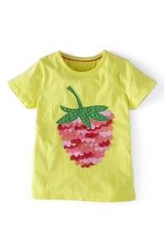 Mini+Boden+Ruffle+Appliqué+Tee+(Toddler+Girls)+available+at+#Nordstrom