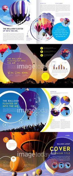 디자인소스 광고 레이아웃 레저 브로슈어 비행 열기구 원형 일출 자유 출판 팸플릿 편집디자인 표지 하늘 합성이미지 홍보 advertisement… Page Layout Design, Web Design, Book Design, Brochure Layout, Brochure Design, Editorial Layout, Editorial Design, Layout Inspiration, Graphic Design Inspiration