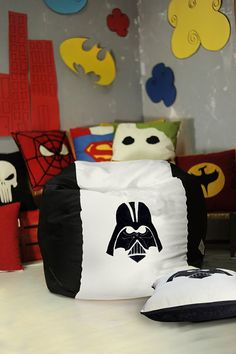 Hello Star Wars fans! Specially for you we have made Darth Vader & Stormtrooper bean bags! Get for your self or surprise your star wars fellow! All our
