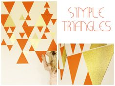 Create simple, yet eye-catching triangles here.