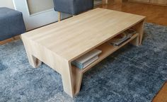 "1a10design:  ""Mesa de Centro MC20  #1a10design #muebles #furniture #design #diseño #handmade #hechoenchile #depto51 #chile #madera #dowoodworking #furnituredesign #woodworking #coffeetable  """