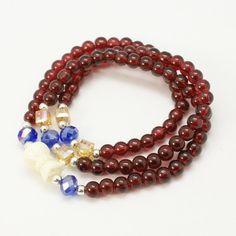 PandaHall Jewelry--Fashion Wrap Around Glass Stretch Bracelets | PandaHall Beads Jewelry Blog