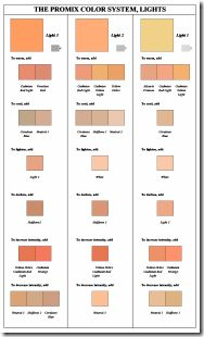 promix-1 Oil Painting Tips, Lily Painting, Oil Painting Techniques, Painting Lessons, Watercolor Paintings, Skin Palette, Paint Color Combos, Color Mixing Chart, Figure Sketching