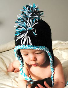 PDF Pattern Crochet Little Rocker Mohawk Hat with Permission to Sell What You Make