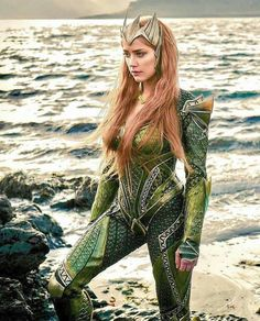 Amber Heard, Mera, Aquaman's wife in Justice League