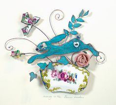 Beastie Brooch Studio  LOVE this!!!!! Just so beautiful!