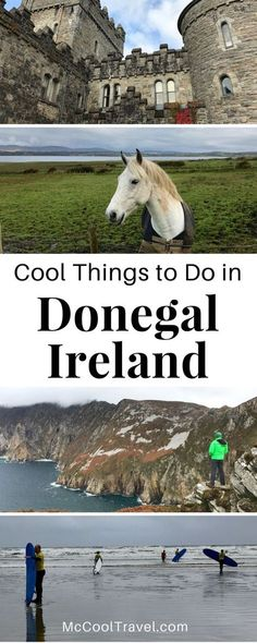 """Ireland travel. Donegal Ireland and Wild Atlantic Way. Cool things to do in Donegal Ireland span the rugged Wild Atlantic Way and explore unique hidden gems of """"the Coolest Place on Earth"""". #Donegal #Ireland #EuropeTravel #travel"""
