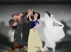 Characters From Classic Disney Movies Pose With Their Real-Life Counterparts