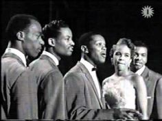 The Platters - The Great Pretender I like them