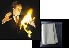10x flash paper papier flash magie magicien tour de grande illusion accessoire truc: Cette feuille de 21x25cm va s'enflammer en un éclair…