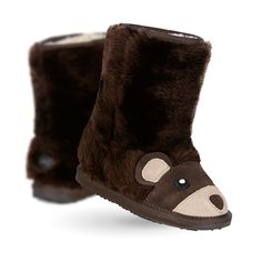 Brown Bear Kids Deluxe Wool Boot- EMU Australia