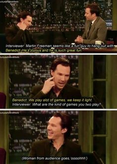 Johnlock fans are every where!<-- They cannot escape us! >:D muhahahahah! <<< you people ;-)