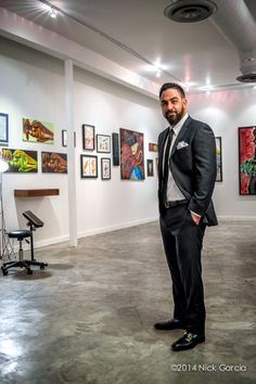 Chris Nùñez's Art Gallery Chris Nunez of Handcrafted Tattoo And Art Gallery and star of Ink Master on Spike.