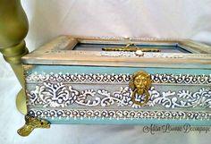 decoupage box by Adisa Lisovac Decoupage