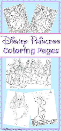 Disney Princess Coloring Pages – Want to keep the kids entertained on a rainy day? Just print out these Disney princess coloring pages and let them color away. It's the perfect rainy day fun! Moana Coloring Pages, Planet Coloring Pages, Disney Princess Coloring Pages, Coloring Pages For Girls, Cartoon Coloring Pages, Free Coloring Pages, Printable Coloring Pages, Coloring Books, Fairy Coloring