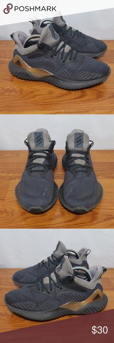 new style ac6c7 b373d Adidas Alpha Bounce Shoes Shoes are in used condition. No tears or holes.  Shoes