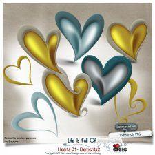 Hearts 01 - Elements 02 by Eirene Designs cudigitals.com cu commercial scrap scrapbook digital graphics#digitalscrapbooking #photoshop #digiscrap #scrapbooking