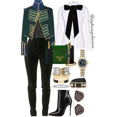 Toy Solider    We're starting off the week with a fun and festive outfit idea. Click the  in our bio to shop the look, including complete outfit details.   #Lotd #ootd #style #fashion #fashiondaily  #instastyle #instafashion #styleinspiration #styleismyobsession #Prada #Burberry #Louboutin #Dior #Balenciaga #Hermes #Balmain #Holidays