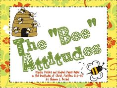 The Beatitudes (Song, Posters, Coloring Pages, and Writing Activity)