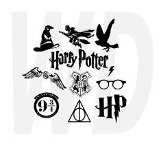 Harry Potter svg dxf