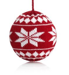 Knitted Bauble