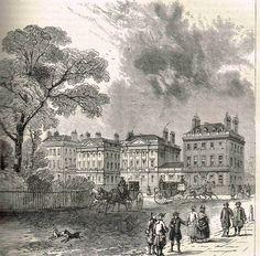 Cavendish Square in 1820