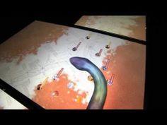 Yiwarra Kuju - One Road Interactive Table