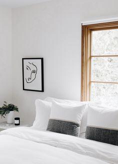 Louise Gray Throw Pillow No. 3