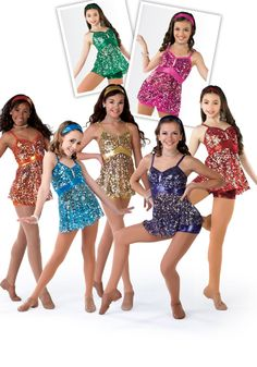 11424 - I Made It #dancecostume #dancerecital #sequindress