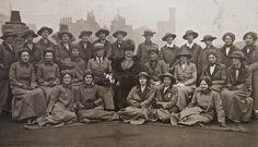 Girton & Newnham unit, Scottish Women's Hospitals setting off for Serbia from Liverpool, 1916. #WW1Centenary #WW1