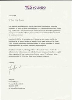 Professional Reference Letter. Professional Reference LetterLetter Templates
