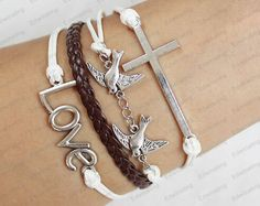 I need bracelets like these....so settle and very pretty!