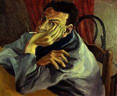 Renato Guttuso - Self-Portrait (1936) Renato Guttuso (né le 26 décembre 1911 à Bagheria, en Sicile - mort le 18 janvier 1987 à Rome) est un peintre italien d'origine sicilienne, représentant du réalisme pendant les périodes fasciste et communiste de l'histoire italienne contemporaine.