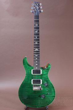 PRS[Paul Reed Smith ポールリードスミス] Custom 24 10Top PT Emerald Green(2014 Model)|詳細写真
