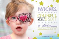 Kids Bright Eyes eyewear and patches for children