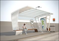 austrian bus shelters | Feed Pictures - Bus Shelter Architecture Architecture Wallpapers