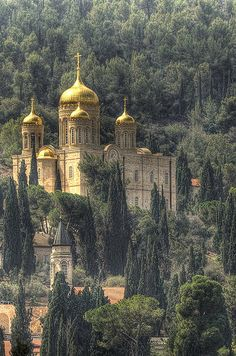 Moscovia Church, Jerusalem - Built by the Russian Orthodox Church at the end of the 19th century.
