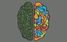 IBM's Artificial Brain Has Grown From 256 Neurons to 64 Million Neurons in 6 Years – 10 Billion Projected by 2020 Geek Wallpaper, Minimalist Desktop Wallpaper, Kawaii Wallpaper, Screen Wallpaper, Wallpapers Geeks, Wallpapers Android, Auguste Herbin, Biology Of Belief, Left Brain Right Brain