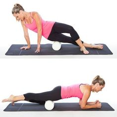 The super versatile foam roller is essential to anyone running or working out. We show you 10 ways to use a foam roller including stretching, massaging, working your core, balancing and incorporating it into your yoga practice. This cheap workout tool is Kayla Itsines, Les Muscles Endoloris, Sore Muscles, Fitness Tips, Fitness Motivation, Fitness Fun, Fitness Goals, Roller Workout, Foam Roller Exercises