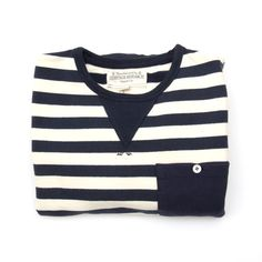 All good things wrapped into one.  Navy.  Stripes. Pocket. Button.  Buy me.