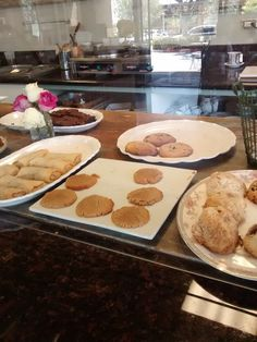 Wild Strawberry Cafe - Newport Beach, CA, United States. Desserts just waiting to be chosen
