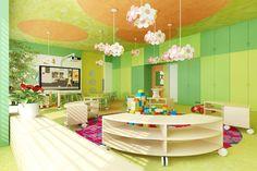 The model project of interior design | Kindergarden furniture