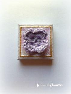 """Mini toile décorative série """" Cosy Winter """" n°12 : Accessoires de maison par jademiel-etincelles"""