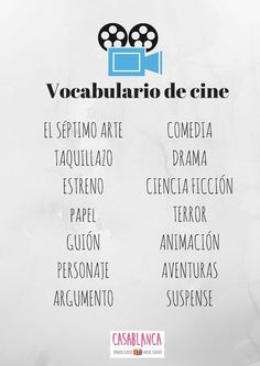 13 Tema Cine Ideas Teaching Spanish Learning Spanish How To Speak Spanish