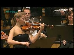 ▶ Antonin Dvořák: Romance for Violin and Orchestra performed by Tanja Sonc - YouTube CC Cycle 2 Week 24