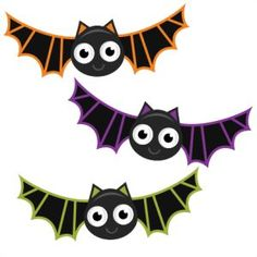 Halloween - Miss Kate Cuttables | Product Categories Scrapbooking SVG Files, Digital Scrapbooking, Cute Clipart, Daily SVG Freebies, Clip Art | Pinterest | Bat…